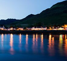 Dornie At Night by Lynne Morris