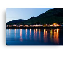 Dornie At Night Canvas Print