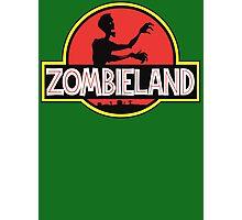 Jurassic Parody Zombie T Shirt Photographic Print