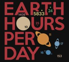 Earth Hours Per Day by jezkemp