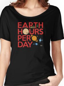 Earth Hours Per Day Women's Relaxed Fit T-Shirt