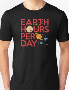 Earth Hours Per Day T-Shirt