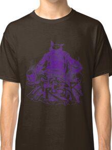 Citycrusher -protecting the earth- purple Classic T-Shirt