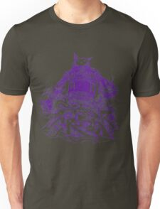 Citycrusher -protecting the earth- purple Unisex T-Shirt