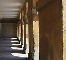 North Colonade, Blenheim Palace by Dave Godden