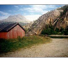 """A fabulous landscape"" by Maj-Britt Simble"