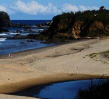 GlassHouse Rocks  Beach #8, Narooma Sticker
