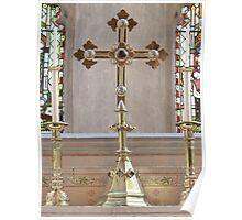 Golden Altar Poster