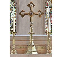 Golden Altar Photographic Print