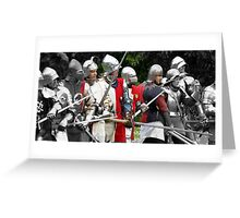 The Battle Greeting Card