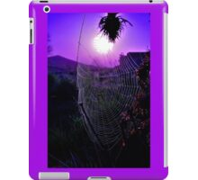 Sunrise Web iPad Case/Skin