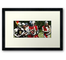 Battle #2 Framed Print
