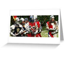 Battle #2 Greeting Card