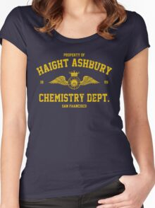 Property of Haight Ashbury Women's Fitted Scoop T-Shirt