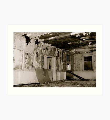 Harperbury - Decay Art Print