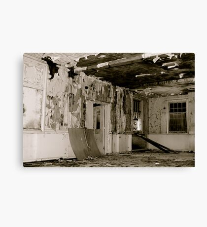 Harperbury - Decay Canvas Print