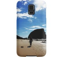 Walking On The Beach Samsung Galaxy Case/Skin
