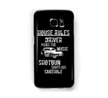 House Rules Samsung Galaxy Case/Skin