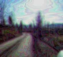 Old Hippie Highway by JenLand