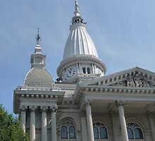 Tippecanoe County courthouse, Lafayette, Indiana, USA by nealbarnett