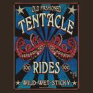 Tentacle Rides Poster Art by GUS3141592