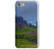 The Man of Storr iPhone Case/Skin