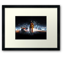 Battlefield Master Chief Style Framed Print