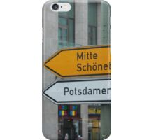 Mitte - Schoeneberg iPhone Case/Skin