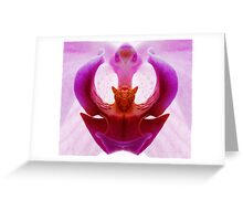 My perfect orchid Greeting Card