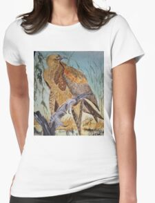 Wedge Tailed Eagle - bird of prey - Australia Womens Fitted T-Shirt