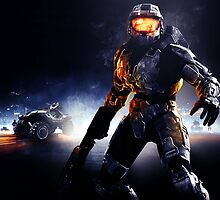 Battlefield Master Chief Style Version 2 by The5thHorseman