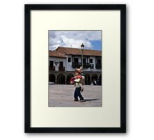 Cusco Kid Framed Print