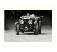 1927 Bentley Speed Six Tourer Art Print