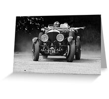 1927 Bentley Speed Six Tourer Greeting Card