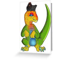 What if Raptors were Rainbows? Greeting Card
