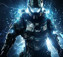 Halo 4 Master Chief - Through the Storm by The5thHorseman