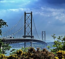 The Forth Road Bridge, Scotland. by Aj Finan