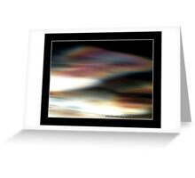"""""""Mother Of Pearl Clouds"""" Greeting Card"""