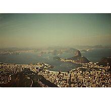 Rio de Janeiro vintage Photographic Print