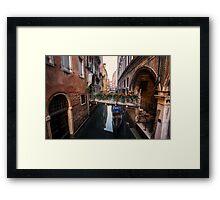 Flowers of Venice Framed Print