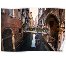 Flowers of Venice Poster