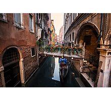 Flowers of Venice Photographic Print