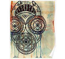 Border mask Poster