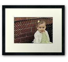 Little Addison Framed Print
