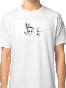 Super Pets Illustration Classic T-Shirt