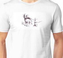 Super Pets Illustration Unisex T-Shirt