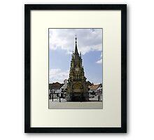 American Fountain, Stratford-upon-Avon Framed Print