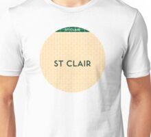 ST. CLAIR Subway Station Unisex T-Shirt