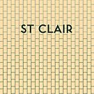 ST. CLAIR Subway Station by Daniel McLaren