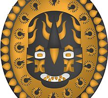 Aztec Sun God by Tymiq Thomas